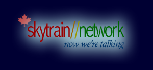 The skytrain//network logo